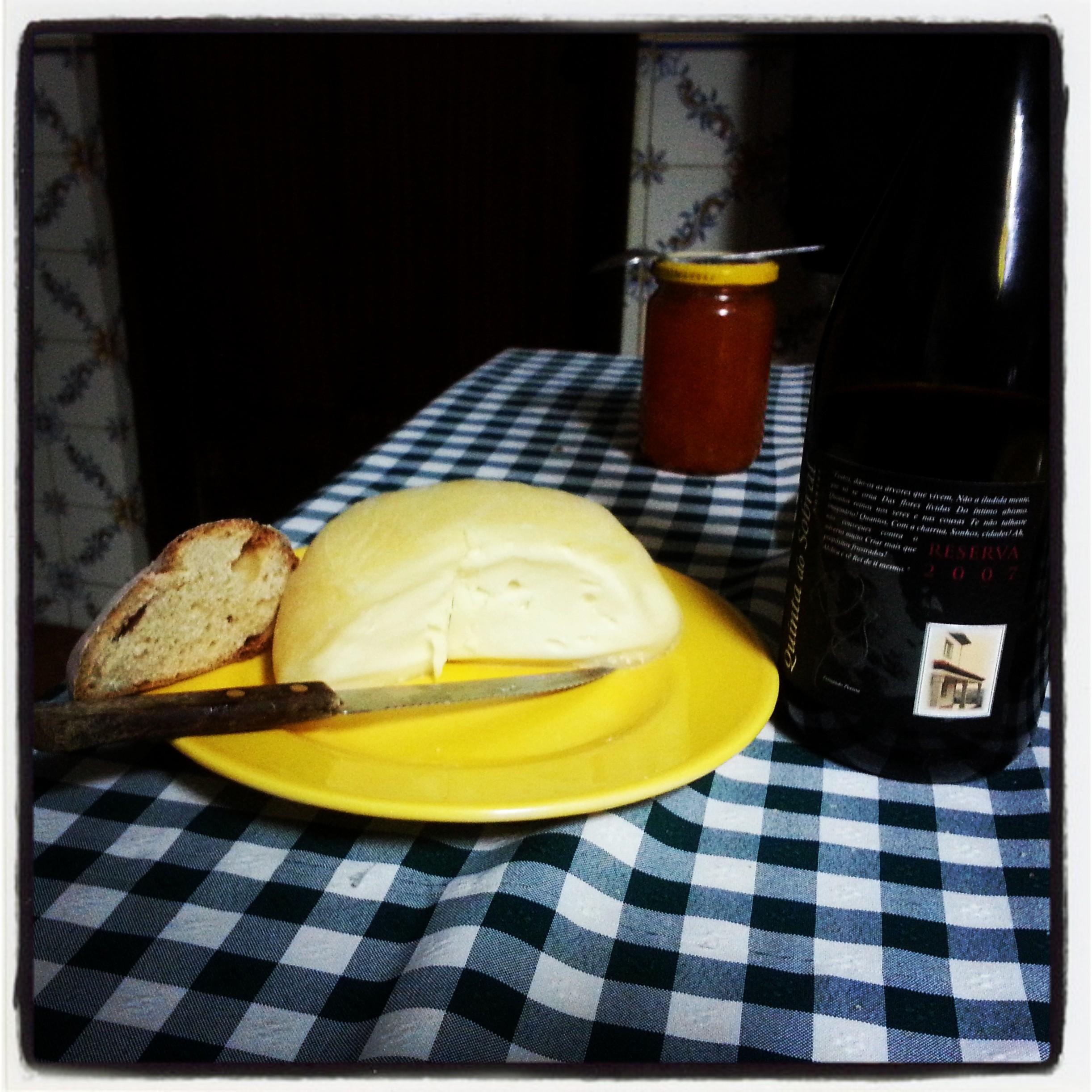Sim, é o queijo da foto ITG365 anterior... mas já depois da meia-noite... ;)